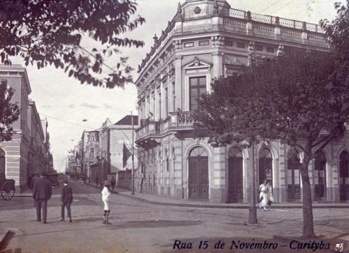 Curitiba cartões postais do início da década de 1930